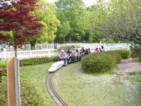 ふなばしアンデルセン公園のミニ鉄道