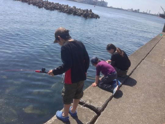 イソガニ釣りのベストスポット