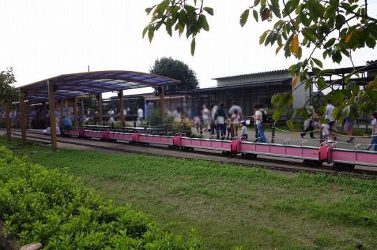 長い長いミニ鉄道